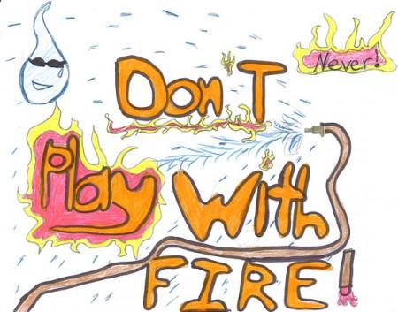 nu te juca cu focul