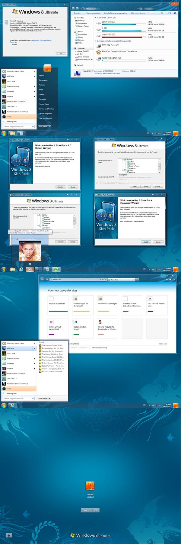 cum arata windows 8