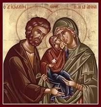 Sfintii Ioachim şi Ana