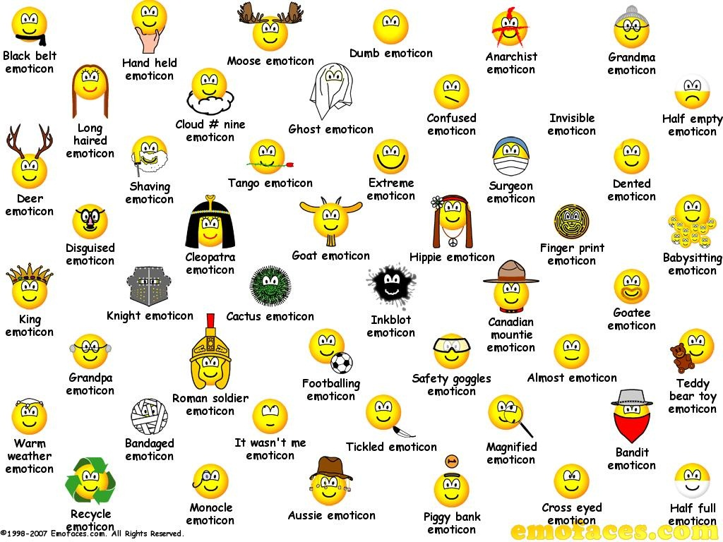 Emoticoane noi Yahoo Messenger 11