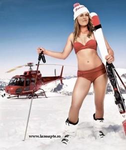 tipa sexi prezinta partia de schiat din europa