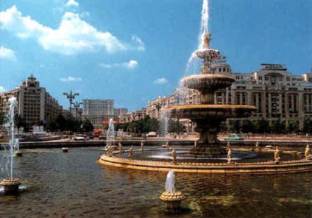 bucuresti - fananta - centrul capitalei