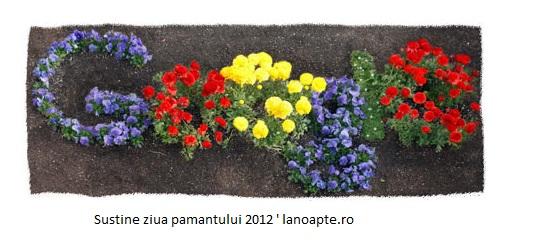 sustine ziua pamantului 2012