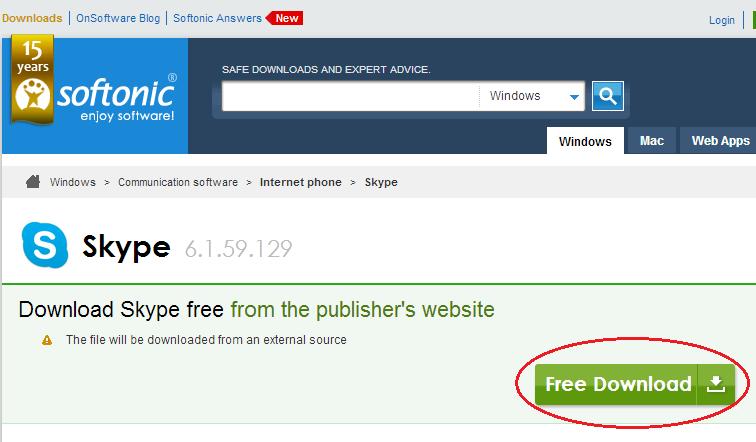 download skype free 2